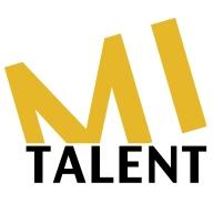 mi talent logo mustard